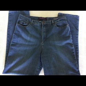 Gloria Vanderbilt Denim Jeans Size 16 Lot of 2 😲